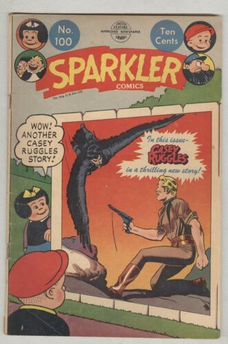 Sparkler comics #100 July 1951 VG