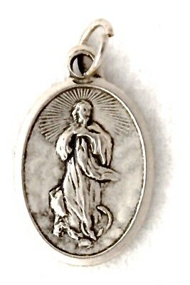 OUR LADY of the ASSUMPTION Catholic Patron Saint Medal rosary neckchain etc NEW