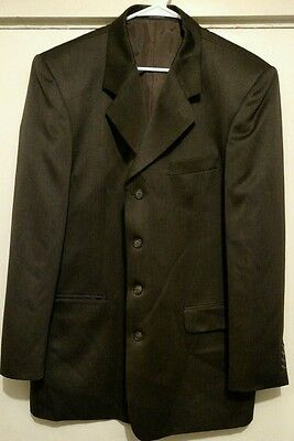 Vanetti Men's 4-Button Blazer Sport Jacket Size 44L