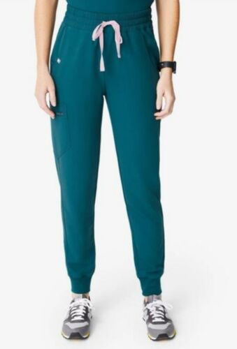 zamora xxs high waisted carribean blue jogger