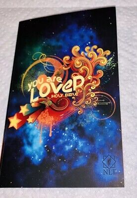 NLT You Are Loved Holy Bible paperback (cross Coin Included If You Request It) Holy Bible Cross