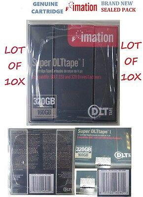 "DLT Imation Super Tape I Cleaning Cartridge Tape  Cart 1/2"" 160Gb/320Gb SDLT"
