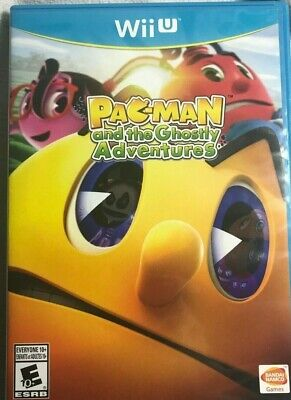 Pac-Man and the Ghostly Adventures For Nintendo Wii U - 2013