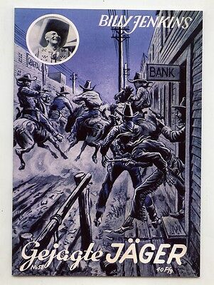 Billy Jenkins  Hefte (0-1)  Reprint Nr.  51-83  Hethke + 2x Bilder + Sammelalbum