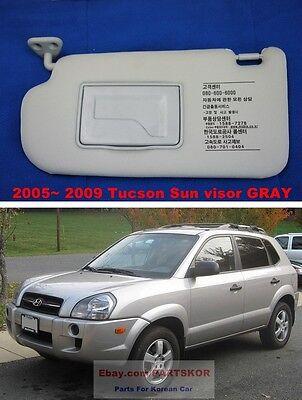 LH for 2005-2009 Tucson 85201-2E031QS Genuine Hyundai Sun Visor