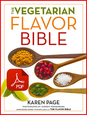 The Vegetarian Flavor Bible by Karen Page -