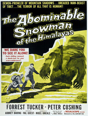 7516.Decoration Poster.Home Room interior design.Abominable Snowman.Yeti movie (Abominable Snowman Decoration)