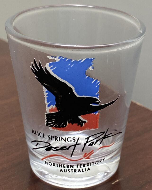 Alice Springs Desert Park Australia Single Shot Glass Northern Territory