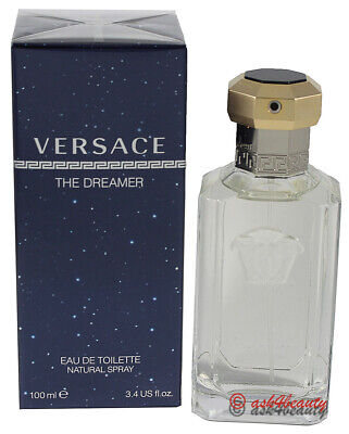 The Dreamer  by Versace 3.4 oz/100 ml EDT Spray for Men
