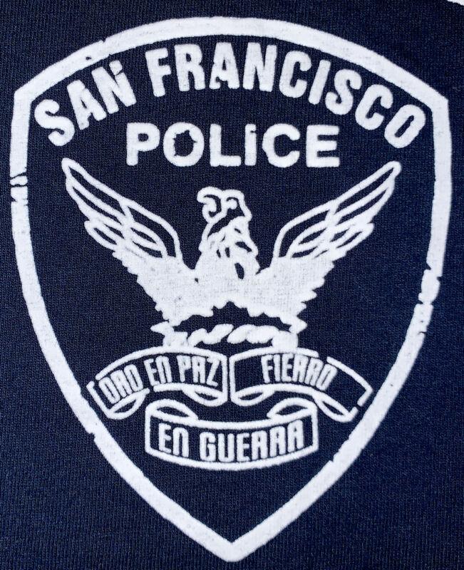 SFPD San Francisco Police T- Shirt Sz XL California CA Finest Team New NYPD
