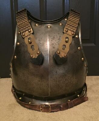 Original French Napoleonic 1st Empire Cuirassier Trooper Armor Cuirass MARKED