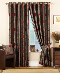Terracotta Curtains Curtains Ebay