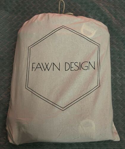Fawn Design Original Faux Leather Full Size Diaper Bag Backpack - $73.00
