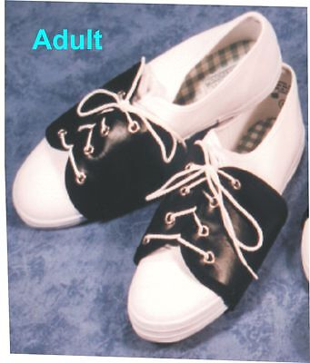 Saddle Shoe Spats Adult 1950's Oxford Style Shoe Cover B205