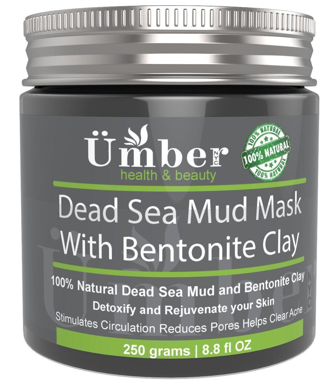 Dead Sea Mud Mask with Bentonite Clay - Mineral Rich Formula
