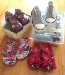 Girls Toddler shoes size 3/4/5 new and used Doncaster East Manningham Area Preview