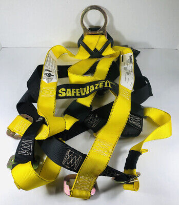 Safewaze 10910 215315 Fall Protection Body Harness Safety Universal Size 310lbs