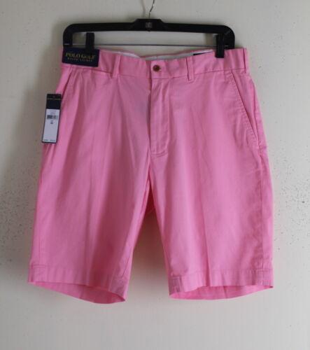 Nwt Polo Golf Ralph Lauren Miami Pink Cotton Twill Classics Shorts Sz 30 $75