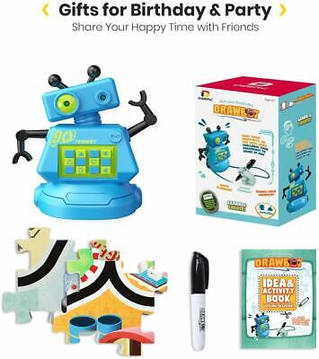 Learning Games For Preschoolers (Robot for Kids Mini Robot Kits with 70PCS Puzzle Game Preschool Learning)