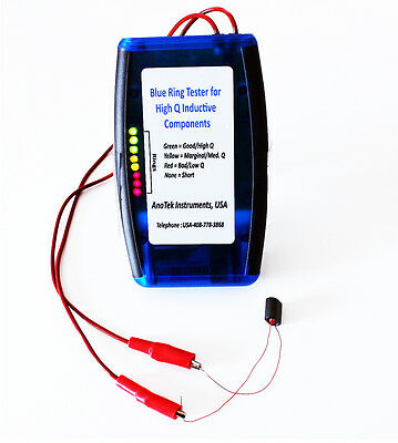 """Anatek Blue Ring """"Q"""" Meter - Full Kit for Self Assembly"""