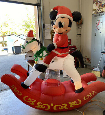 DISNEY MICKEY MOUSE 11FT TALL CHRISTMAS AIRBLOWN INFLATABLE By Gemmy EUC