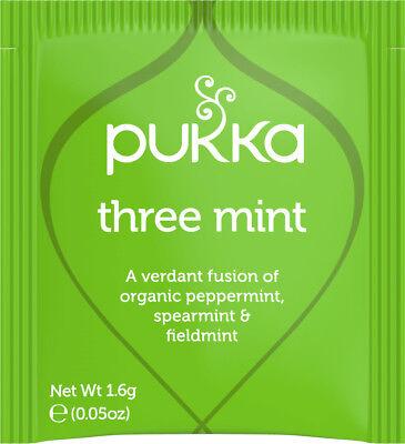 Pukka Kräuter Bio Tees Tee Beutel - Drei Minze (20 Beutel)