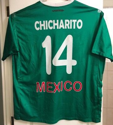 378f73a6a Chicharito Javier Hernandez Mexico National Soccer Team Jersey Size 2XL