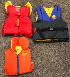 Life jackets - Buoy o boy - 3 jacket lot