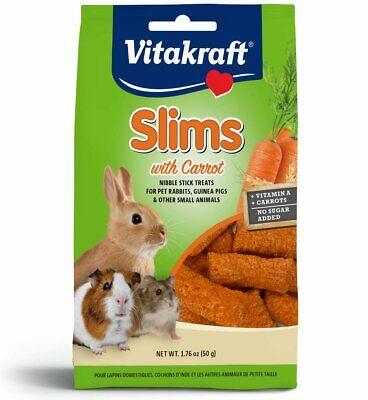 Vitakraft Rabbit Carrot Slims 1.76oz - New Vitakraft Rabbit