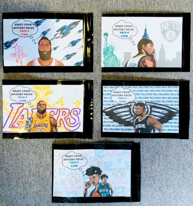 Krazy Mystery Packs! Autograph, Graded Card, Card Worth $20 Or  Krazy Hit! Nba