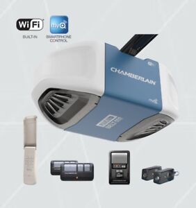 Chamberlain 3/4 HP Belt Garage Door Opener WiFi! *INSTALLED $349