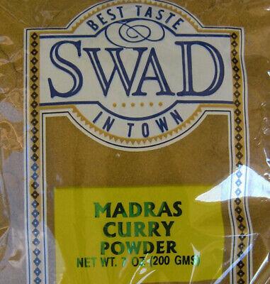 Swad Madras Curry Powder 7oz. - India