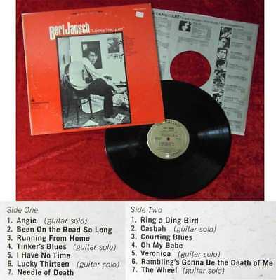 LP Bert Jansch: Lucky Thirteen (Vanguard VSD-79212) US