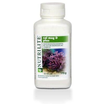 Amway™ NUTRILITE™ Cal Mag D Plus - Vitamine & Mineralien 180 St (173g)