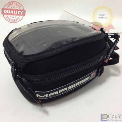 Motorcycle Tank Bag 1.5 Liter Bullet Bag with 4 Hole- No Mounting, Universal Fit