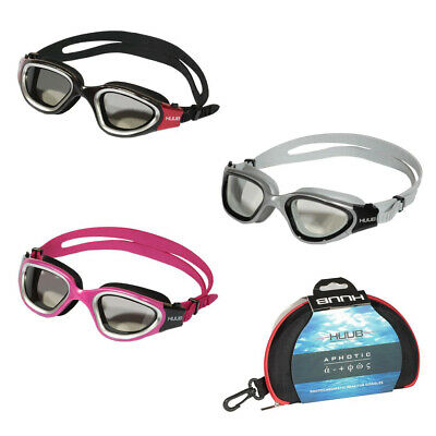 HUUB Aphotic Tri Swim Goggle Swimming Triathlon Open Water Goggles in 4 (Open Water Swim Goggles)