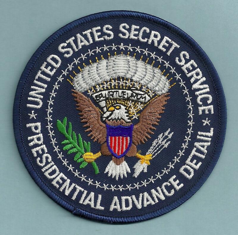 US SECRET SERVICE ADVANCE PRESIDENTIAL DETAIL PATCH