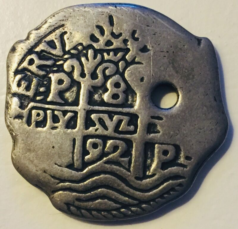 Vintage Disneyland Pirates of the Caribbean Coin Doubloon Pirate No Markings