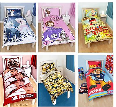 Kids Disney and Character Single Panel Duvet Cover Bedding S