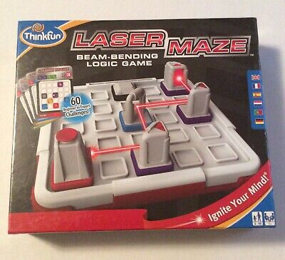Lazer Maze Game By Thinkfun Ages 8-Adult Stimulates STEM Mensa Approved *New*