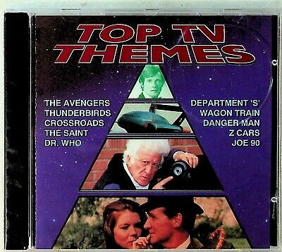 Top TV Soundtrack Themes -The Best Of Sci-Fi CD (Avengers/Joe 90/Z Cars/Dr Who)