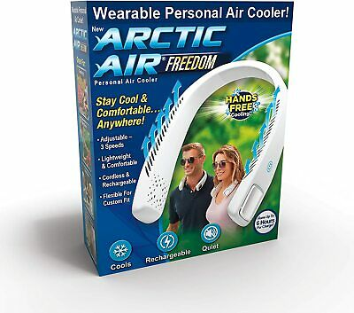 Arctic Air Freedom Personal Air Cooler & Purifier 3 Speed Light Weight Cordless