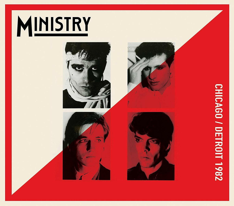 MINISTRY - CHICAGO/DETROIT 1982   CD NEU