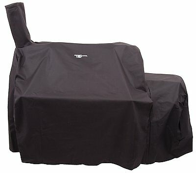 Char-Broil Oklahoma Joe's Highland Offset Smoker Cover, Black