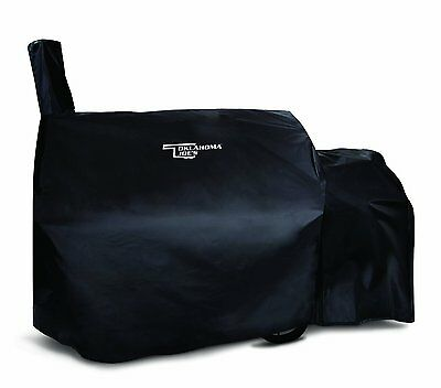 Char-Broil Oklahoma Joe's Longhorn Offset Smoker Cover, Blac