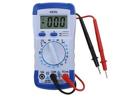 Lcd Digital Multimeter Dc Ac Voltage Diode Freguency Multitester Volt Tester