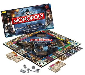 Monopoly Pirates of the Caribbean Collectors Edition