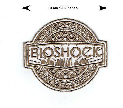 Bioshock Logo Grande Papi Bordado Termoadhesivo Parche/Aplique