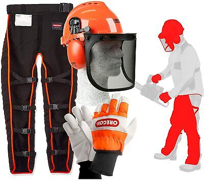 Oregon Type A Chainsaw Safety Clothing Kit with Universal Leggings/Seatless Trou