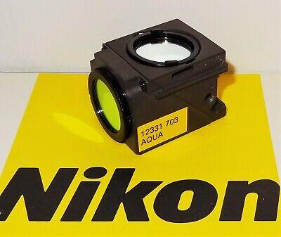 Nikon Chroma Aqua Fluorescent Microscope Filter Cube For E400 600 Te200300